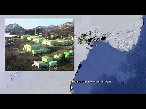Massive Wave Anomalies Caught Coming from Antarctica Mystery Ross Sea Base