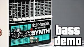 Electro-Harmonix Bass Micro Synth Demo