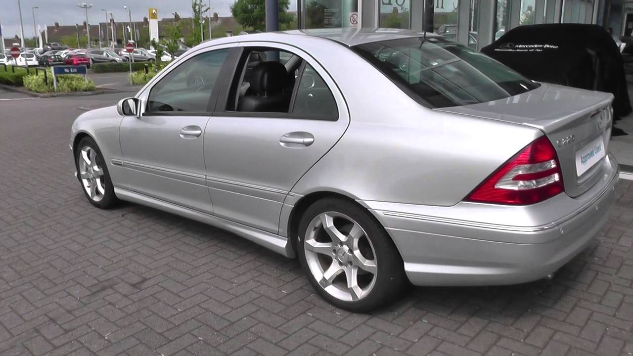 mercedes-benz c220 cdi sport edition a u25445 - youtube