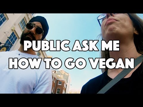 The Public ask me how to go Vegan in Norwich