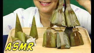 ASMR • Traditional Snacks: Kanom Khruai & Kanom Sot Sai • Eating Sounds • Light Whispers • Nana Eats