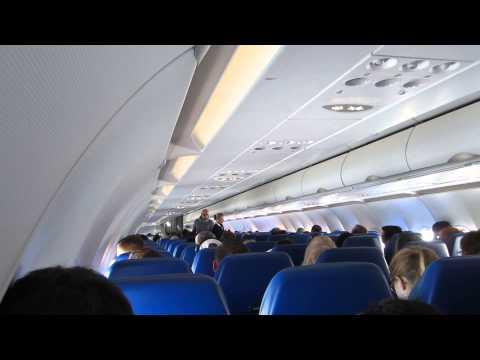 Полет на Airbus A320 Аэрофлота
