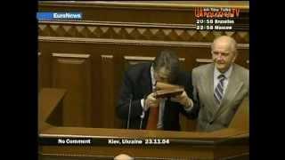 23 11 2004 Київ Віктор Ющенко приймає присягу у ВР 5 2