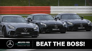 BEAT THE BOSS | Toto vs. Lewis vs. Valtteri!!