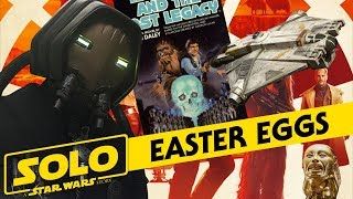 Solo: A Star Wars Story - Easter Eggs, References, Legends Connections, and More!
