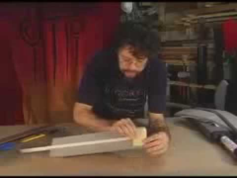Making a Short Sword with Stabbing Tip: Part 1