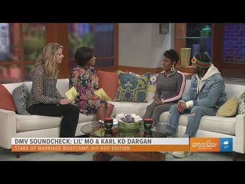 """The DMV Soundcheck With Hip-Hop Star Lil' Mo & Husband Pro Boxer Karl """"KD"""" Dargan Of Marriage Bootca"""