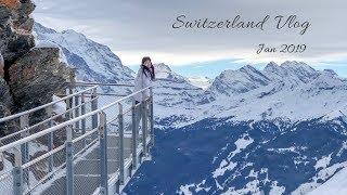 瑞士小鎮太美了!阿爾卑斯山的少女旅行日記~~Switzerland Vlog // Amie Wu