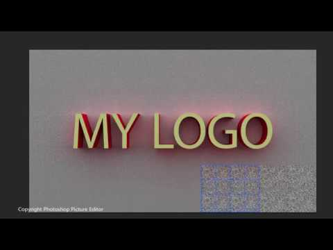 Photoshop Tutorial  3D Text Effects For Beginners thumbnail