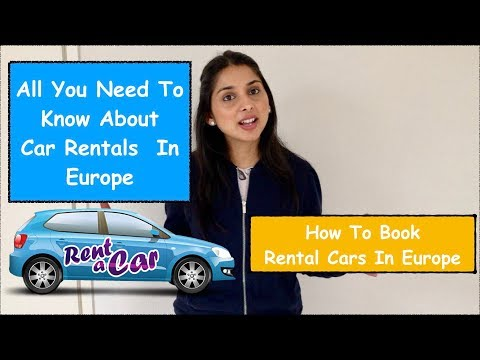 How To Travel Europe By Rental Car | Europe Car Rental | Travel From India | In Hindi