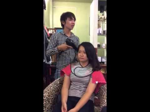 Salon tuấn làm cúp tóc dài nè(cúp chư C)