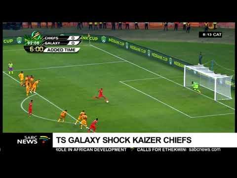 TS Galaxy stun Kaizer Chiefs in Nedbank cup