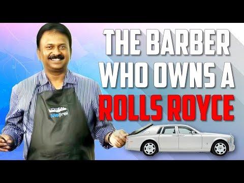 BARBER WHO OWNS A ROLLS ROYCE | Ramesh Babu Biography | More Than 400 Cars