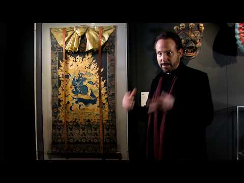 part-14---the-darkness-(-from-documentary-:-tibet's-secret-temple-exhibition-at-wellcome-collect...