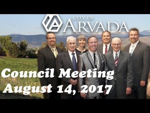 City Council Meeting - August 14, 2017
