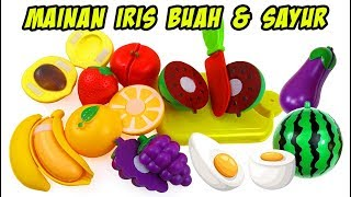 Mainan Potong Buah Dan Sayur | Slice of Fruit and Vegetable Toys