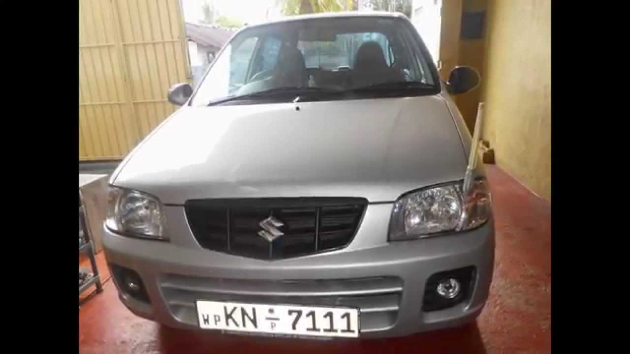 Perfect Suzuki Alto Sport Car (www.ADSking.lk) Sale In Srilanka   YouTube