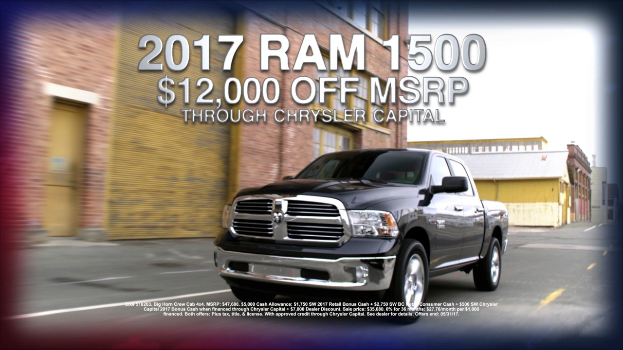 Chrysler Dodge Jeep Ram Leesville LA - Chrysler capital bonus cash