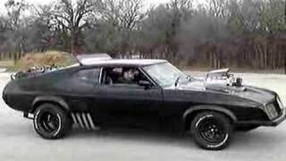 Mad Max - Last V8 Interceptor Axle-hop Stop!