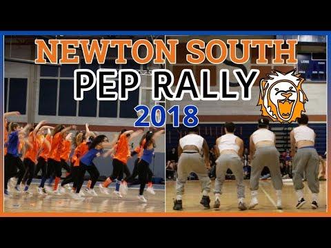 Newton South High School PEP RALLY 2018