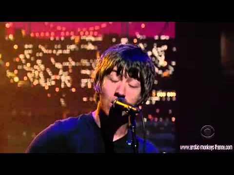 Arctic Monkeys - Fluorescent Adolescent (Live At David Letterman)
