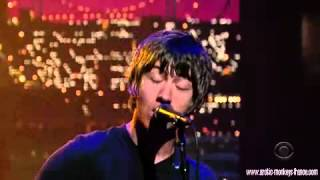 Arctic Monkeys - Fluorescent Adolescent (Live at David Letterman)
