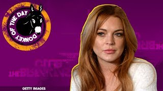 Lindsay Lohan Accuses Syrian Refugee Parents Of Trafficking Their Own Children