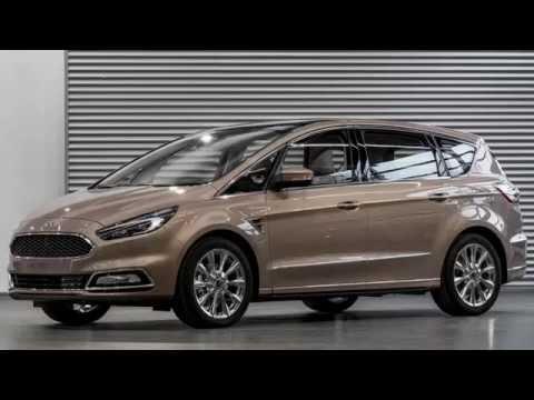 New Ford S-MAX Vignale model 2016