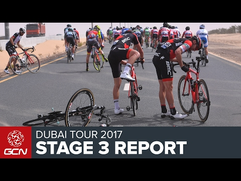 Dubai Tour Stage 3 Race Report