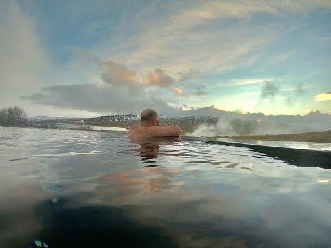 Krauma Geothermal Bath in Iceland