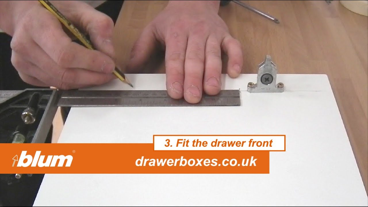 Blum Tandembox Antaro   Deep Replacement Kitchen Drawer Box   3 Of 3 Fit  The Drawer Front   YouTube