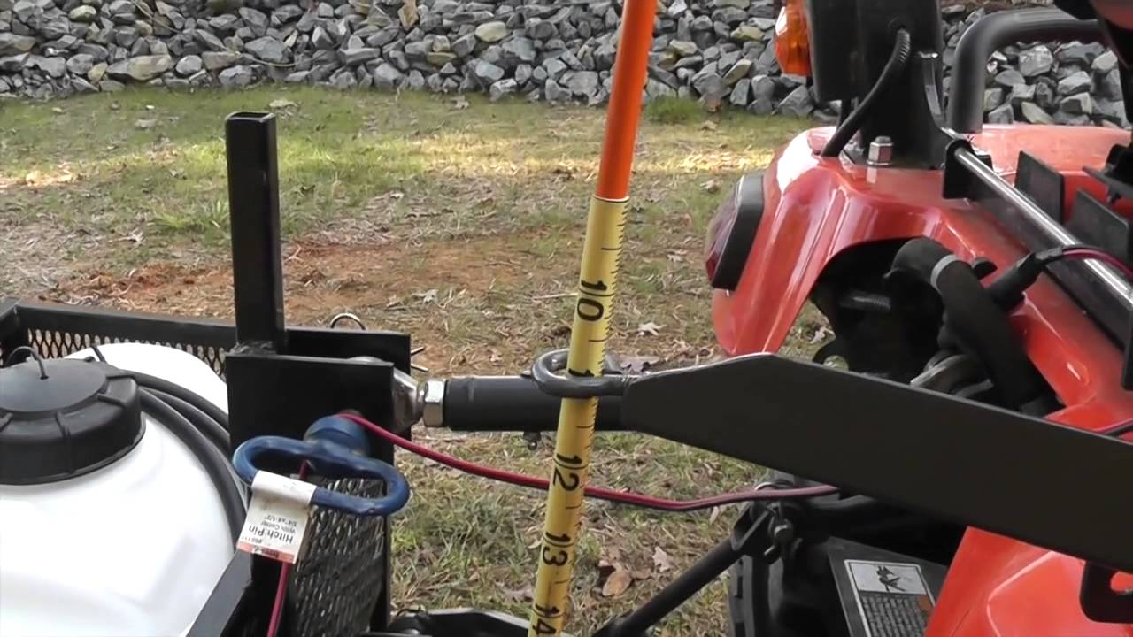 L35 Kubota 3 Point Hitch Pic : Kubota bx d point hitch arm position guide youtube