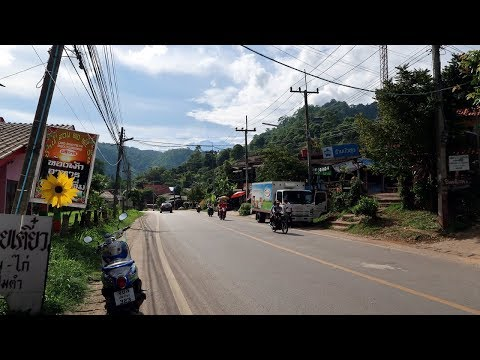 Driving in Chiang Mai #5 - Mae Rim District | อำเภอ แม่ริม