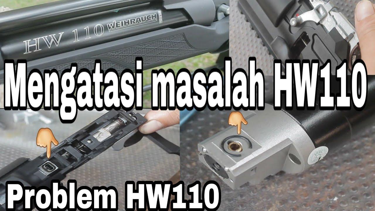 Weihrauch HW110 - Cara mengatasi masalah HW110