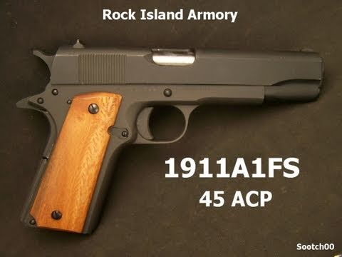 Rock Island Armory 1911 Pistol Review