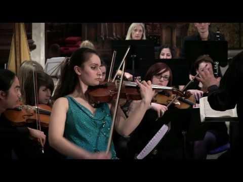 London City Orchestra - Beethoven's Violin Concerto in D major, Op.61 Mvt 1