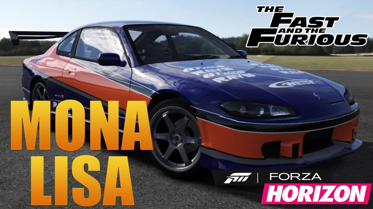 Forza Horizon Fast Furious Tokyo Drift Mona Lisa Custom