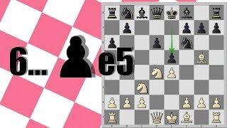 #1 Сицилианская защита за белых. Вариант Найдорфа 6...е7-е5