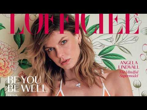 Supermodel Angela Lindvall Shares Her Wellness Tips