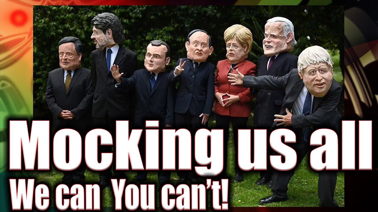 G7 Summit Morphed into G9 farce and propaganda