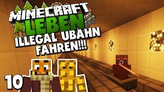 ILLEGAL U-BAHN FAHREN! & LEBT EDGAR WIEDER?! ✪ Minecraft LEBEN #10 | Paluten