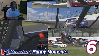 iRacing Funny Moments 6 - Hard Racing and Week 13 Frustrations