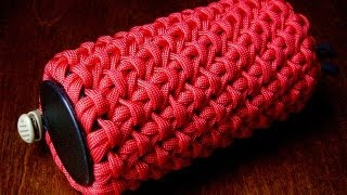 A Chain Sinnet Paracord Pouch