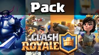 Pack Clash Royale - Pngs, Wallpapers