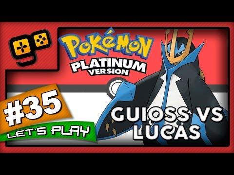 Let's Play: Pokémon Platinum - Parte 35 - Guioss vs Lucas