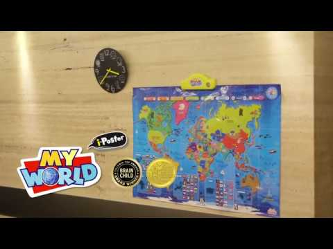 Best learning i poster my world interactive map youtube best learning i poster my world interactive map gumiabroncs Choice Image