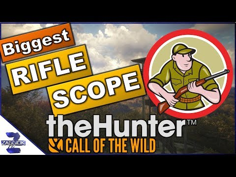 Biggest Rifle Scope 8-16x50 Call of the Wild
