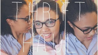 THRIFTING: Try On Haul Thumbnail