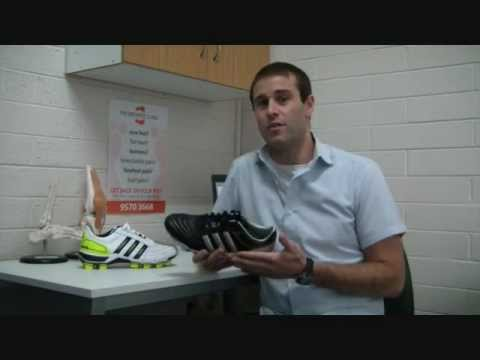 Adidas 118 Pro Endorsement - Featuring David Dzienciol_The Orthotic  Clinic.wmv