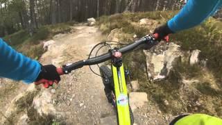 Laggan Wolftrax red trail